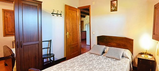 Double room in La Pallera